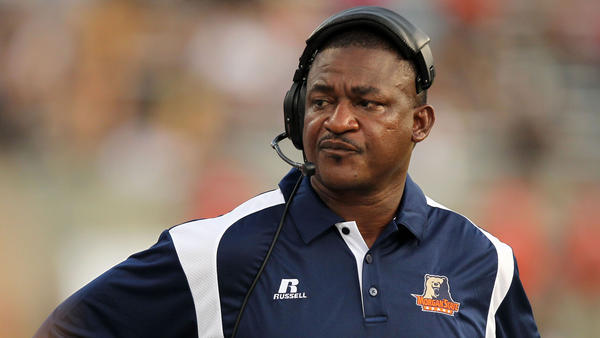 Morgan State Bears head coach Donald Hill-Eley