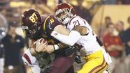 USC can't keep up with Arizona State in loss, 62-41