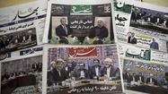 Front pages reflect Iran's internal divide on U.S. talks