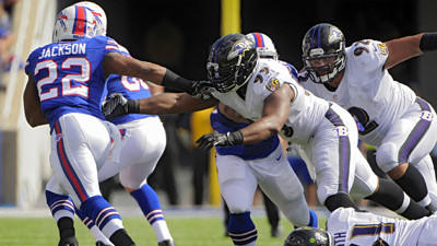 Ravens don't have an answer to Bills' run game