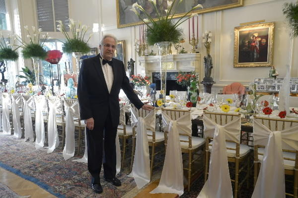 Michael Mennello, co-founder of the Mennello Museum of American Art, celebrated his 80th birthday at a party Saturday night.