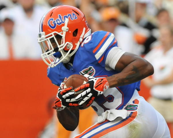 UF receiver Solomon Patton has emerged as a go-to player for the Gators.