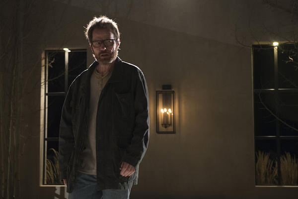 "Walter (Bryan Cranston) has his final showdown in the ""Breaking Bad"" series finale."