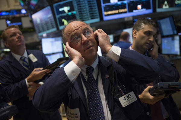 Traders on the floor of the New York Stock Exchange last week.