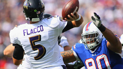 Less passing will likely mean more for Joe Flacco