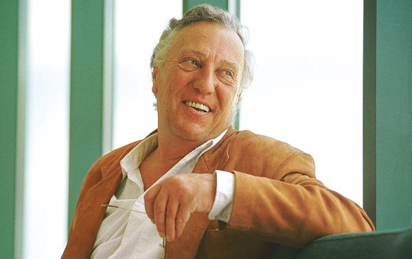 British thriller writer Frederick Forsyth photographed in 1999.
