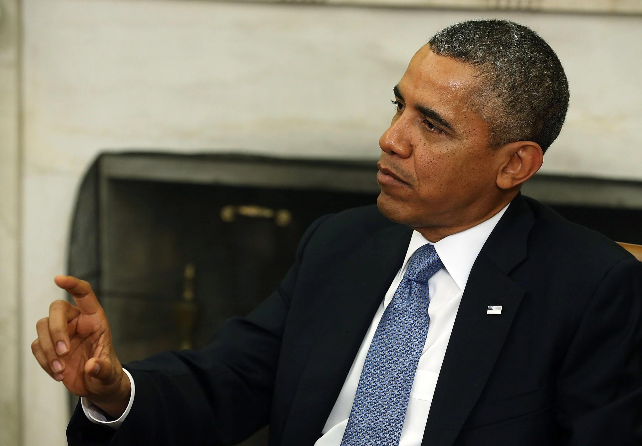 Government Shutdown Obama Obama says he's open t...