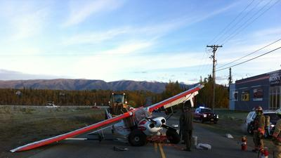 Wasilla Pilot Survives Small Plane Crash on Parkway