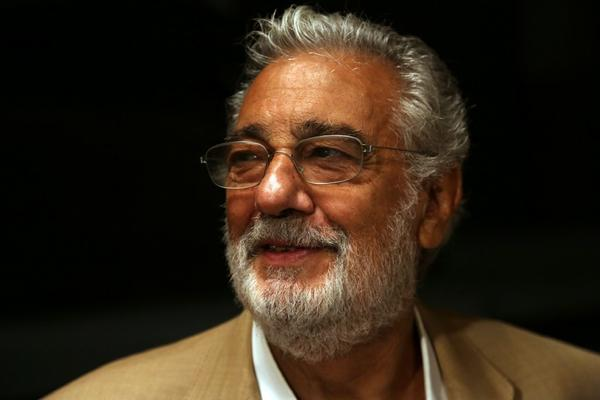 Placido Domingo at the Dorothy Chandler Pavilion in September.