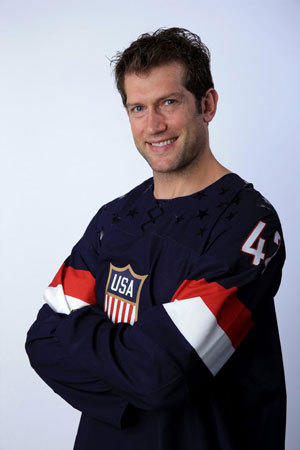 """There's a mutual respect where on a Friday I might be playing Dustin Brown and on Saturday, Zach Parise and Ryan Suter, and it will get a little nasty and bloody but afterwards we can shake hands,"" David Backes says of playing against prospective U.S. Olympic teammates."