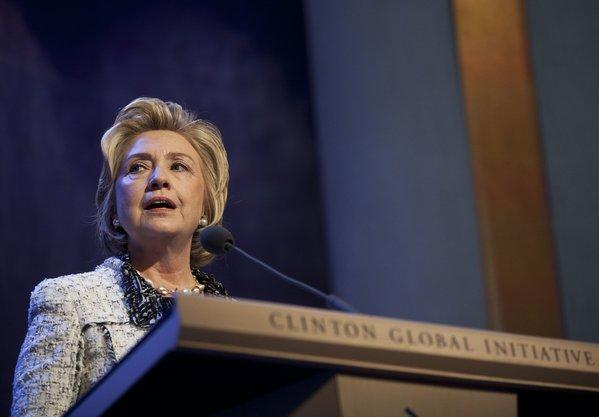 NBC aborted plans for a four-hour miniseries on Hillary Rodham Clinton. CNN said it would not pursue a planned project either. Above, Clinton speaks in New York.