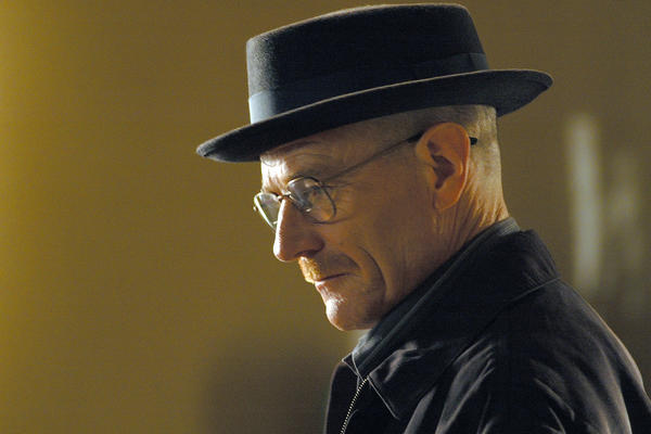 "Walter White, played by Bryan Cranston, on AMC's ""Breaking Bad."""