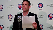 Video: Epstein announces firing of Cubs manager Sveum