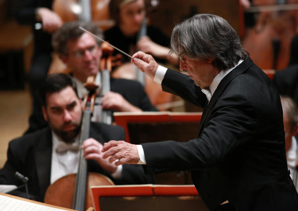 Music Director Riccardo Muti conducts the Chicago Symphony Orchestra and Chorus in Macbeth at Symphony Center.
