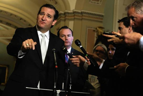 """The truth about Obamacare is it's failing the men and women of America,"" Sen. Ted Cruz (R-Texas) said. But that ignores the fact that the law's most important provisions won't kick in for several more months."