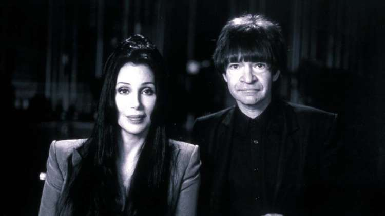 Rodney Bingenheimer with Cher. (Steven Diet Goedde / First Look Pictures)