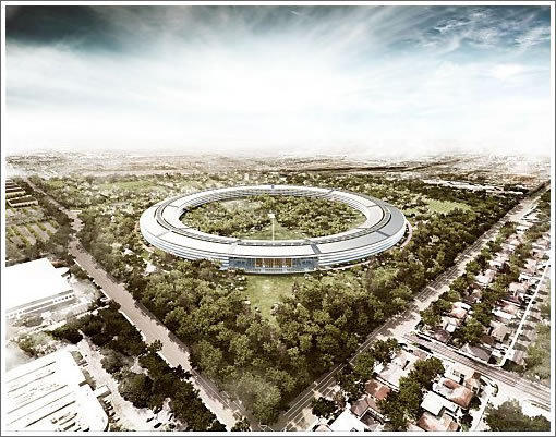 The new Apple Campus 2 in Cupertino will have strong security systems in place.
