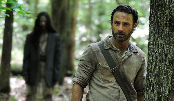 "Andrew Lincoln plays Rick in ""The Walking Dead."""