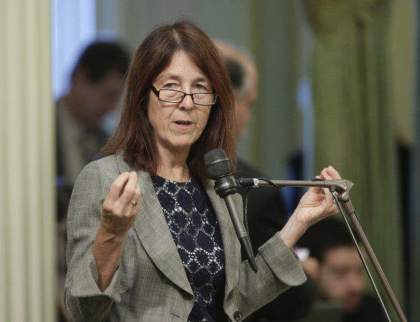 Assemblywoman Nancy Skinner (D-Berkeley) during a legislative debate.