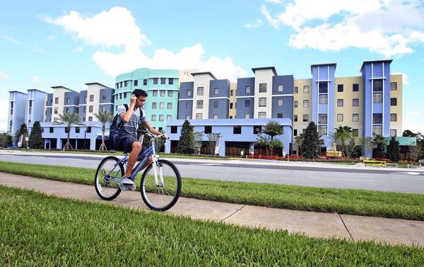 Northview upscale student apartments managed by UCF housing that is located very close to the University of Central Florida campus and stadium.