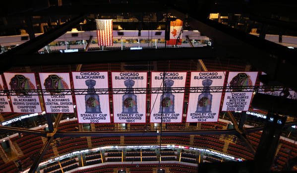 The Blackhawks soon will have another Stanley Cup banner hanging at the United Center.