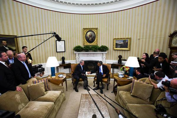 Obama and Netanyahu meet at White House