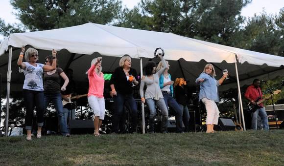annual harford county wine festival draws enthusiastic