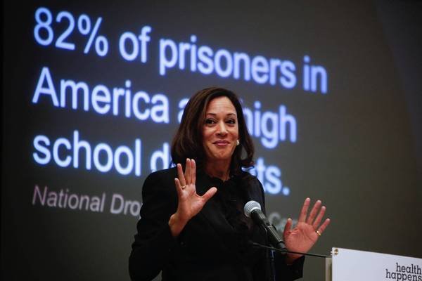 A report issued by California Atty. Gen. Kamala D. Harris found that nearly 1 million elementary students — about one in four — were truant last year and that 250,000 students missed at least 10% of the school year.