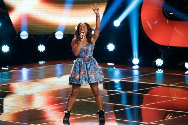 "Timyra-Joi Beatty auditions on ""The Voice."""