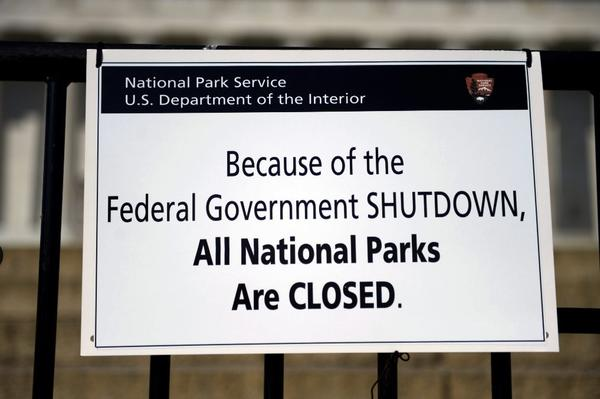 The government shutdown not only has closed national parks, it could prevent the Navy-Air Force game from being played.