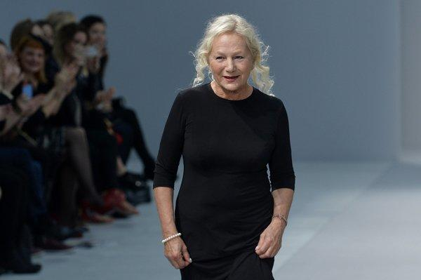 French fashion designer and director Agnes B.