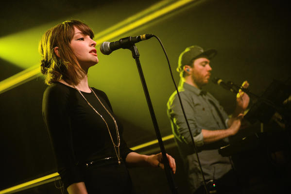 Lauren Mayberry of Chvrches performs on stage at Village Underground on April 29, 2013 in London, England. The Chvrches singer has written a Guardian editorial decrying internet misogyny.