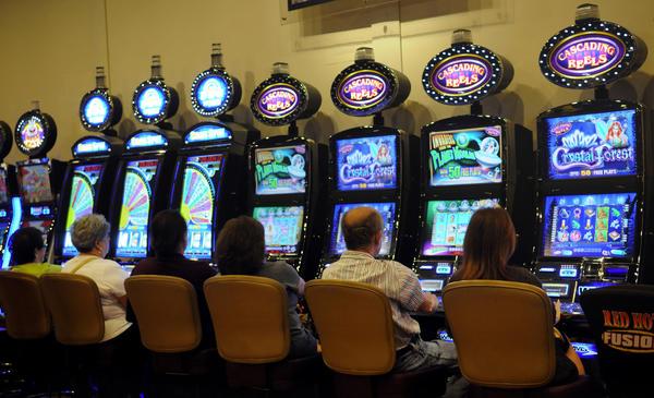 Slots action at the Seminole Casino in Coconut Creek.