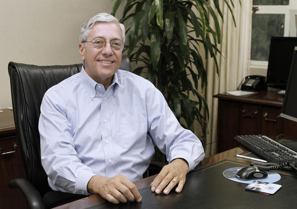 Mark Scott, 63, who has been city manager at four other cities before, most recently in Fresno, Ca., is shown at the Burbank City Hall on Wednesday, July 24, 2013. Scott will begin his job as the Burbank City Manager on Aug. 1.