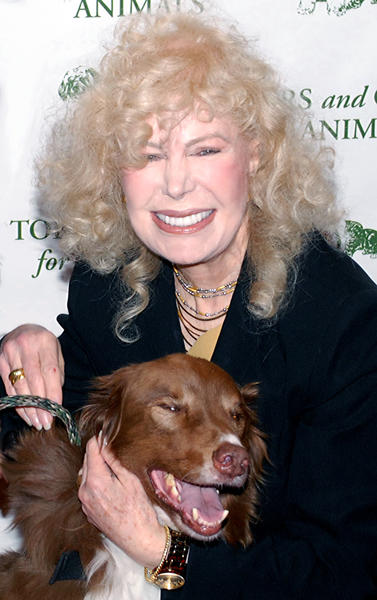 Loretta Swit was among the 350-plus who paid tribute to the Search Dog Foundation during Saturday's Celebration of Caring fundraiser.