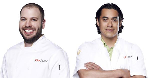 Aaron Cuschieri of Slurping Turtle and Carlos Gaytan of Mexique