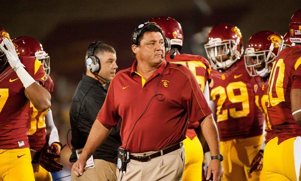 USC interim Coach Ed Orgeron already is making some changes to the Trojans' football program.