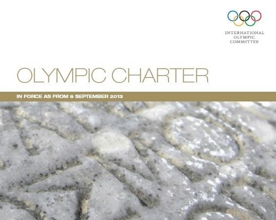 The Olympic Charter cover