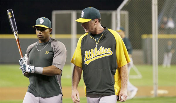 Oakland slugger Yoenis Cespedes and Manager Bob Melvin have helped the Athletics grab their second consecutive American League West title. The Athletics will face the Detroit Tigers in Game 1 of their division series Friday.