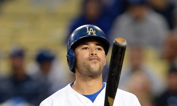 Andre Ethier probably won't be patrolling center field for the Dodgers in their National League division series matchup with the Atlanta Braves, but he could be called on to hit.
