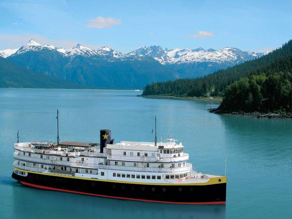 S.S. Legacy offers Heritage Adventures in Alaska in the summer and in fall and spring on the Columbia and Snake Rivers near Portland.