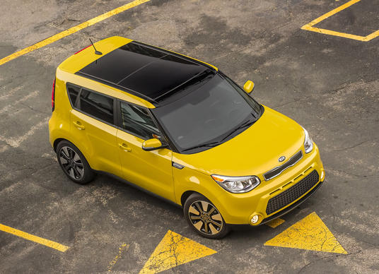 Kia announced it will soon bring an all-electric version of its popular Soul to market, seen here in gas-powered form.