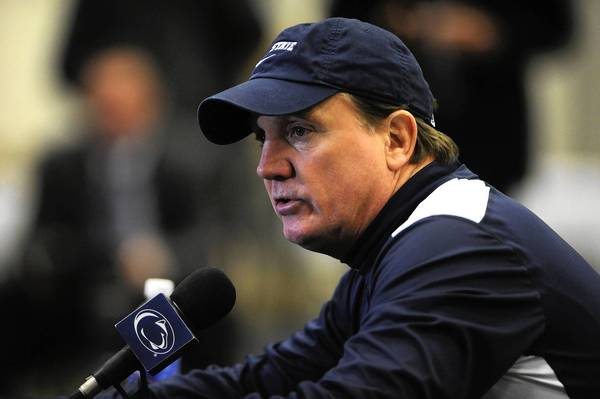 Former Penn State football coach Tom Bradley will work the Lehigh-Fordham football game on TV.