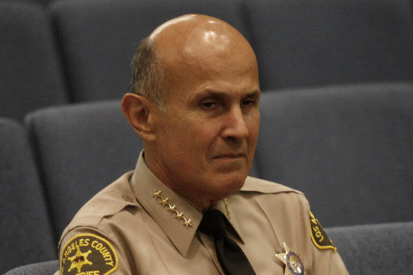 L.A. County Sheriff Lee Baca is being criticized for pitching a dietary supplement from YOR Health, which contributed $1,000 to his campaign.