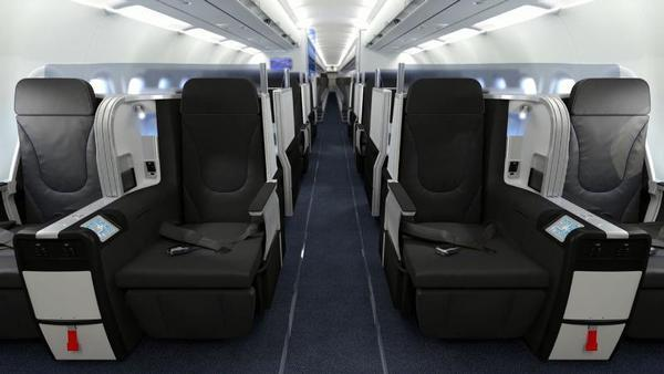 Mint seats will be rolled out in June in JetBlue's premium service on transcontinental flights.