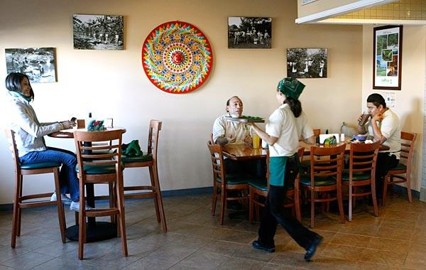 Las Delicias features authentic Costa Rican cuisine and an attentive staff.