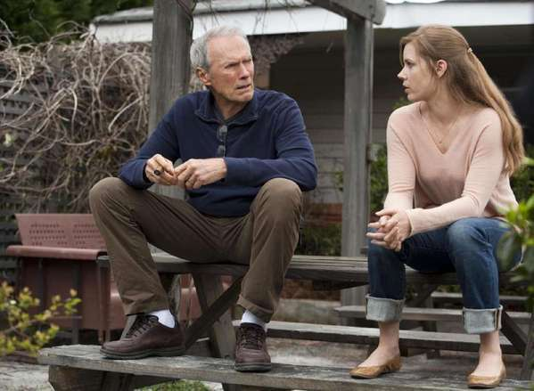 """Clint Eastwood and Amy Adams in """"Trouble With the Curve."""""""