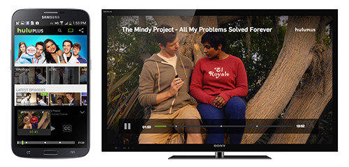 "The Hulu Plus online video subscription service is adding support for Google Chromecast. The news, announced this morning, allows subscribers to use their smartphones and tablets to find a TV episode and send it to the living-room TV by pressing a ""Cast"" button."