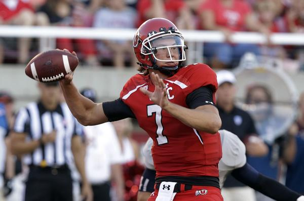Utah quarterback Travis Wilson was a teammate of late UCLA receiver Nick Pasquale at San Clemente High.
