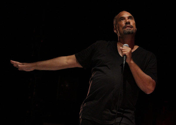 """Rodney King,"" a solo show by Roger Guenveur Smith, continues at the Kirk Douglas Theatre in Culver City."